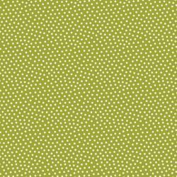 Reindeer Magic dots on Green