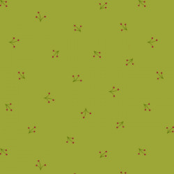Reindeer Magic Sprigs on Green