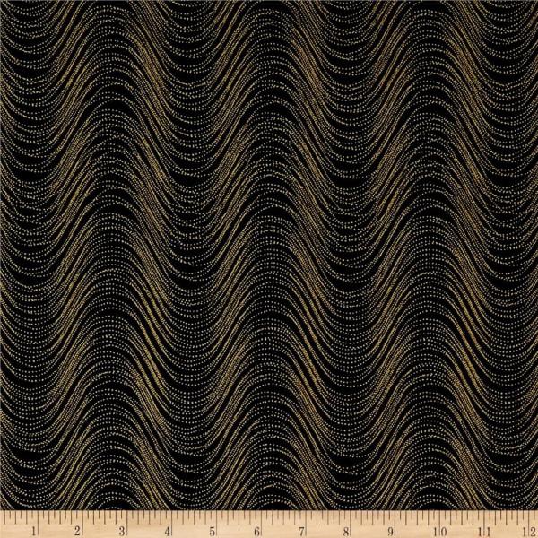Wind Wave Black/Gold