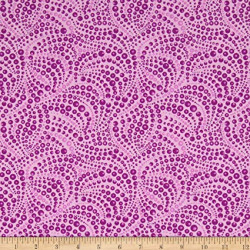 Cat-I-Tude Beaded Purple