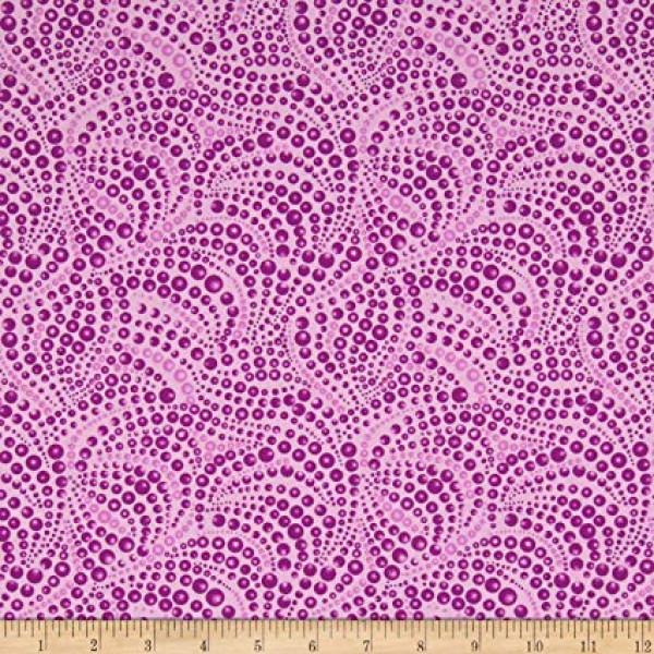 Cat-I-Tude Beaded Purple