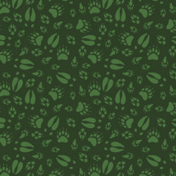Northwood's Animal Tracks--Forest