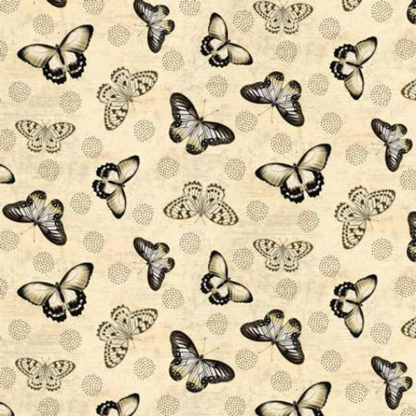 Chantrell Butterflies on Cream
