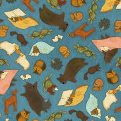 Reading Together Animal Toss, Dk. Blue